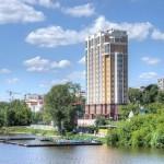 Гостинично-апартаментный  комплекс с подземным паркингом в г. Екатеринбург